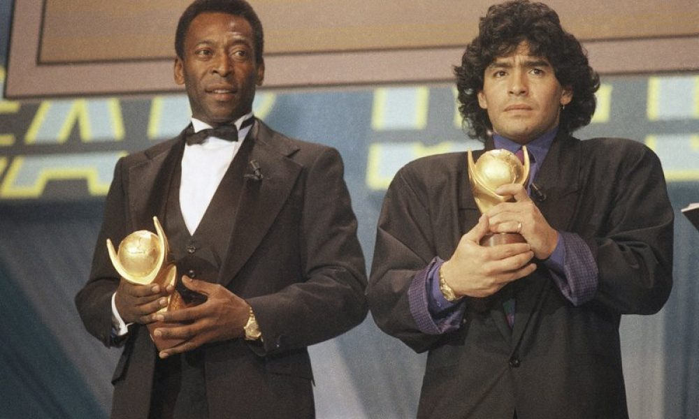 Feuding no more, Pelé joins world in mourning Diego Maradona