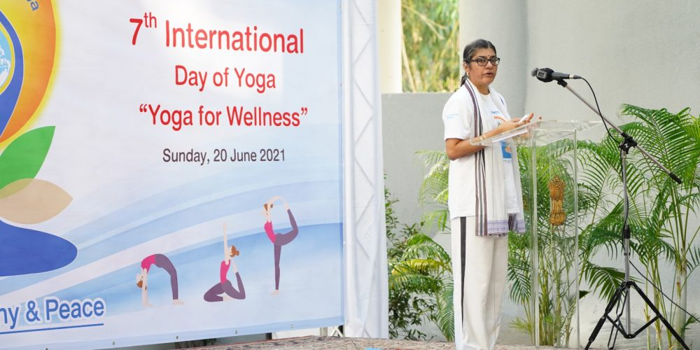 Celebration of the 7th International Day of Yoga 2021