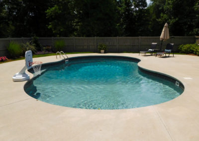 Pool installation montgomery al