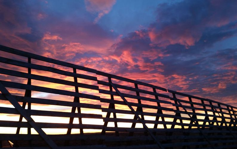 Snow fence installation services from Centennial Woods for Wyoming and surrounding states.