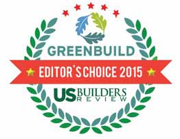 Centennial Woods™ named Greenbuild's Editor's Choice in the 2015