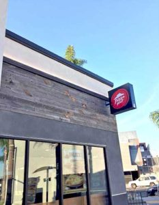 Exterior Facade in Long Beach, CA on a Taco Bell and Pizz Hut restaurant.