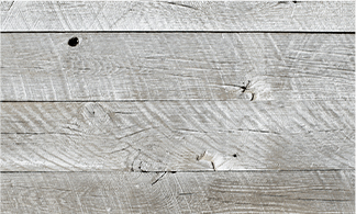 reclaimed wood in white wash.