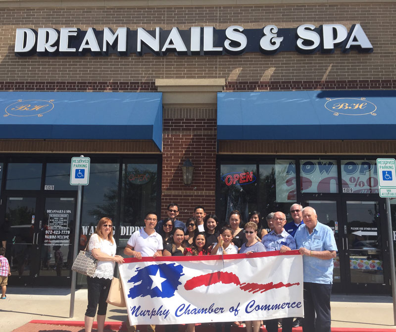 Dream Nails & Spa Ribbon Cutting