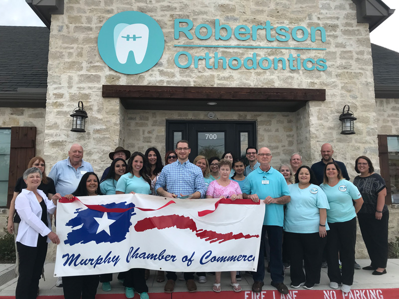 Robertson Orthodontics Ribbon Cutting