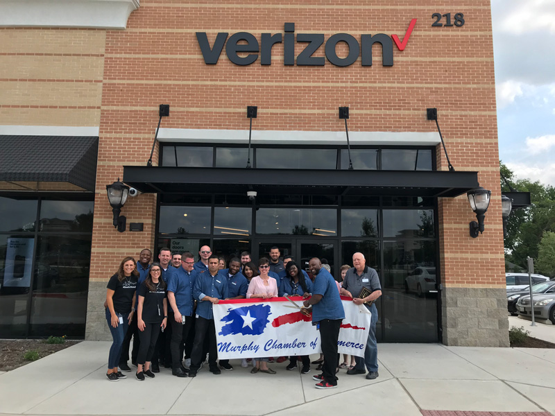 Verizon Ribbon Cutting