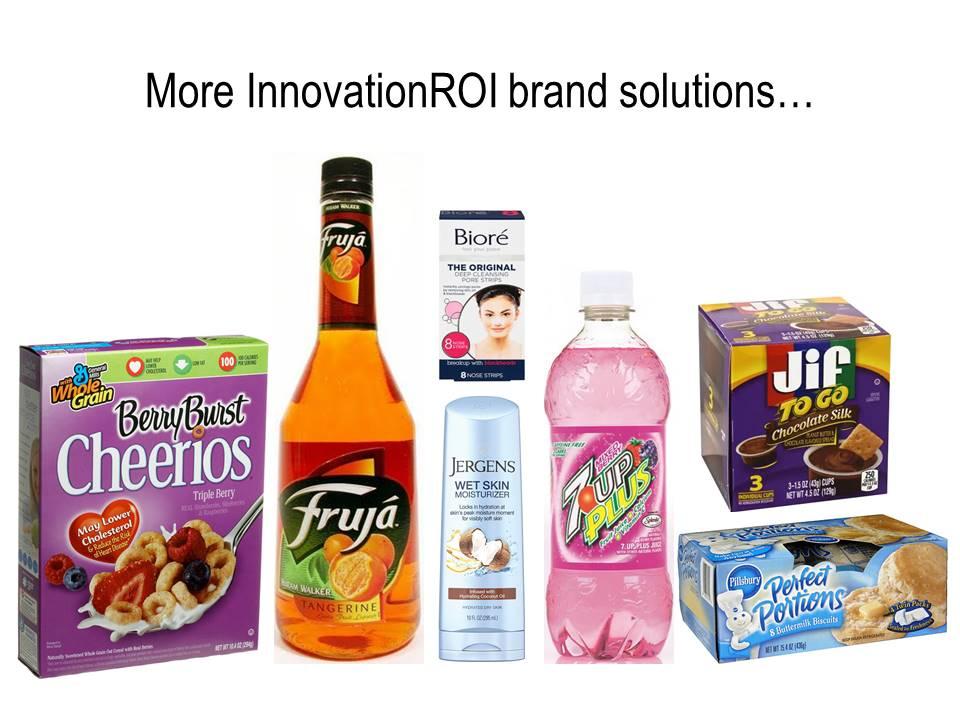 More InnovationROI brand solutions