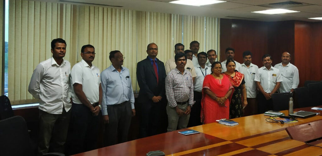 training programme for officers of Tidel Park Ltd. at Coimbatore