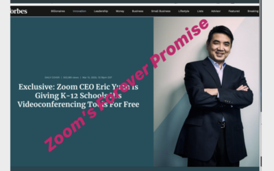 Zoom: A Company Building Forever Transactions (and Some Tips for Distance Learning, Collaboration & Presentations)