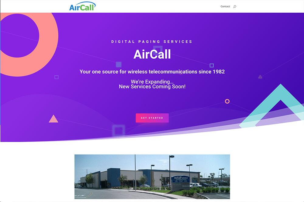 Air Call website
