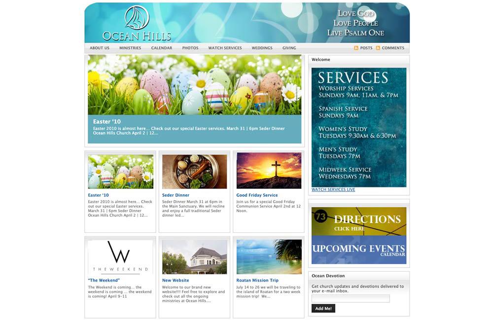 Ocean Hills Church Website