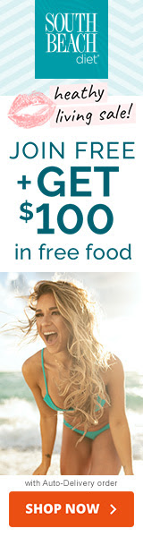 FREE Top Rated South Beach Diet w/Keto plus $100 FREE Food