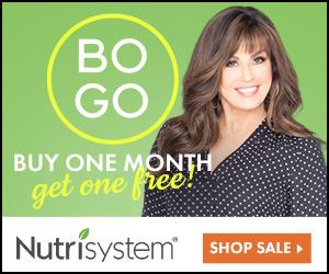 NUTRISYSTEM BOGO - NEW YEARS RESOLUTIONS