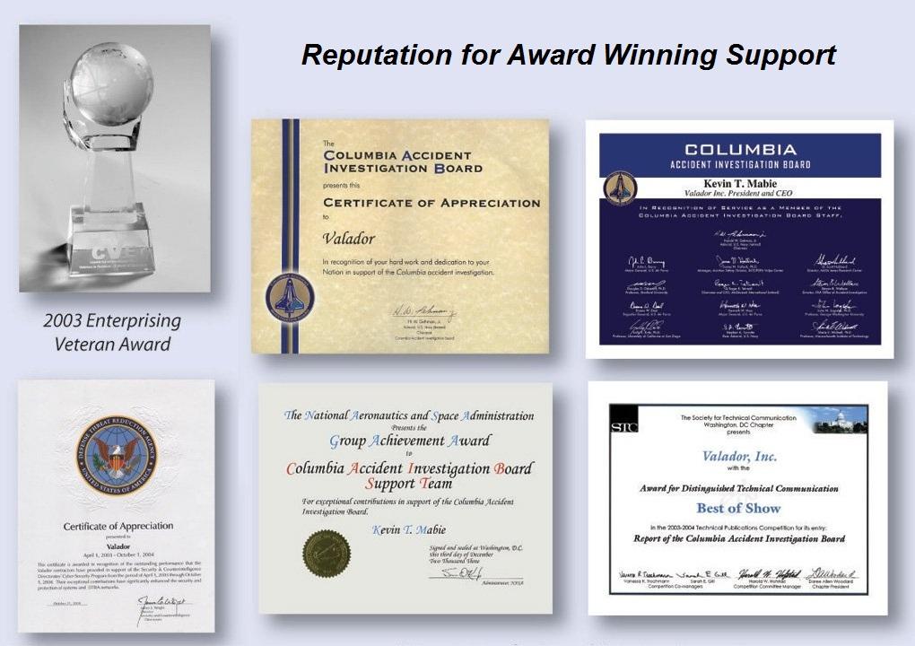 Award Collage