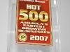 Entrepreneur Magazine\'s Hot 500 Award