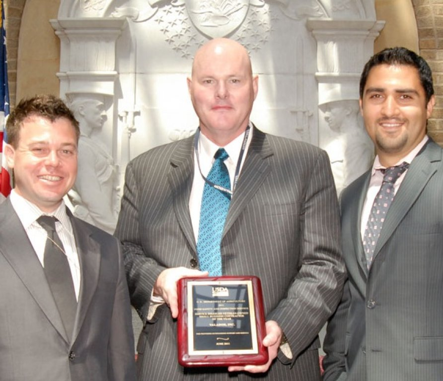 USDA FSIS Service-Disabled Veteran-Owned Business Contractor of the Year