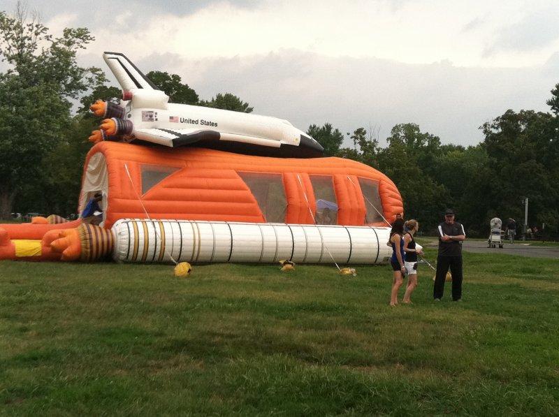 Shuttle Moon Bounce