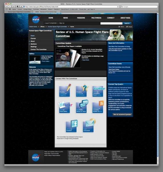 HSF Website