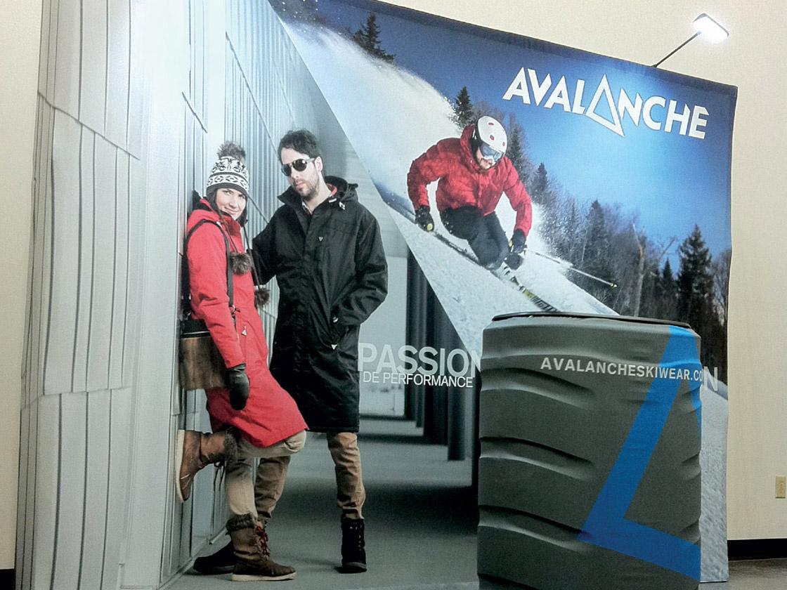 Présentoir pour Avalanche