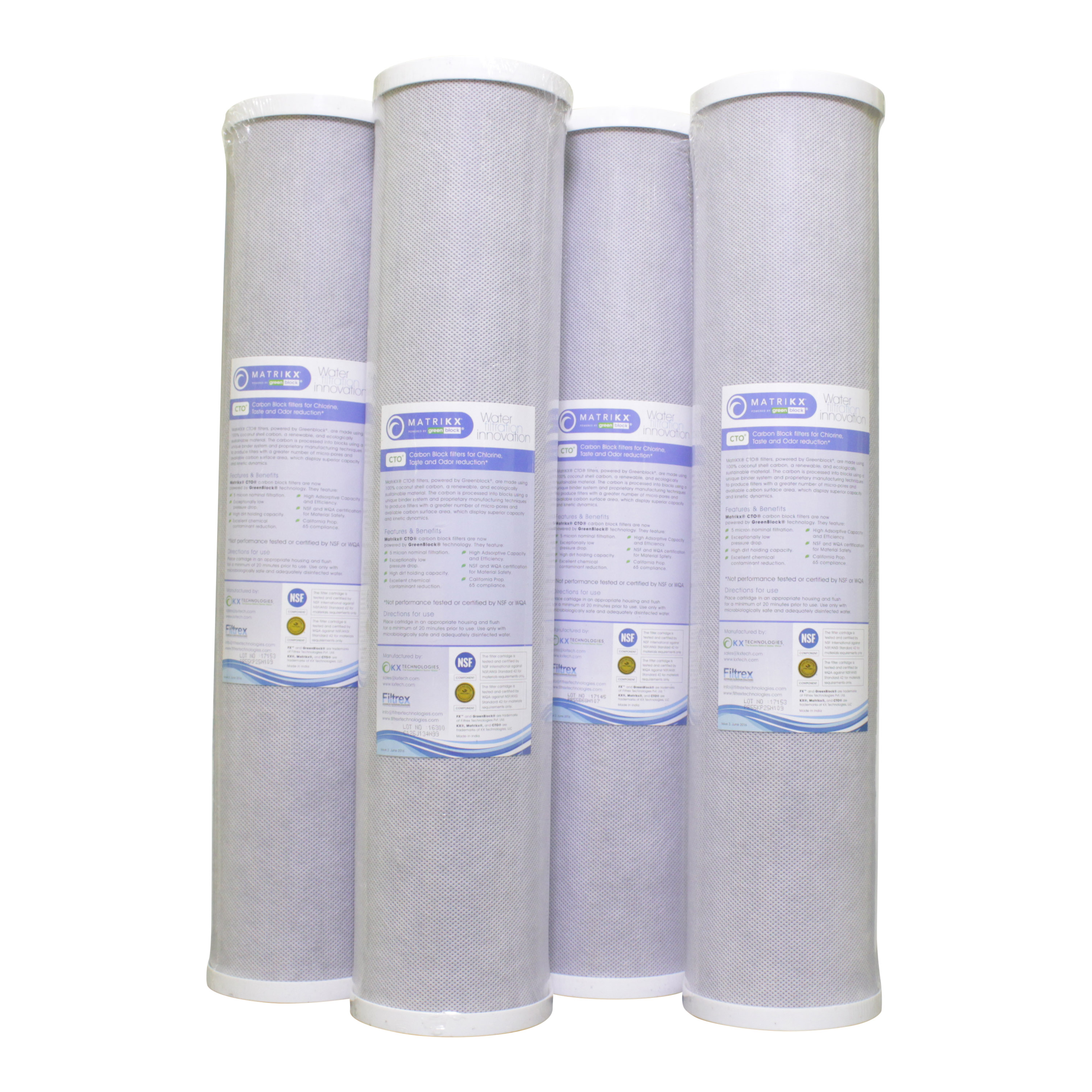 Matrikx Carbon Filters