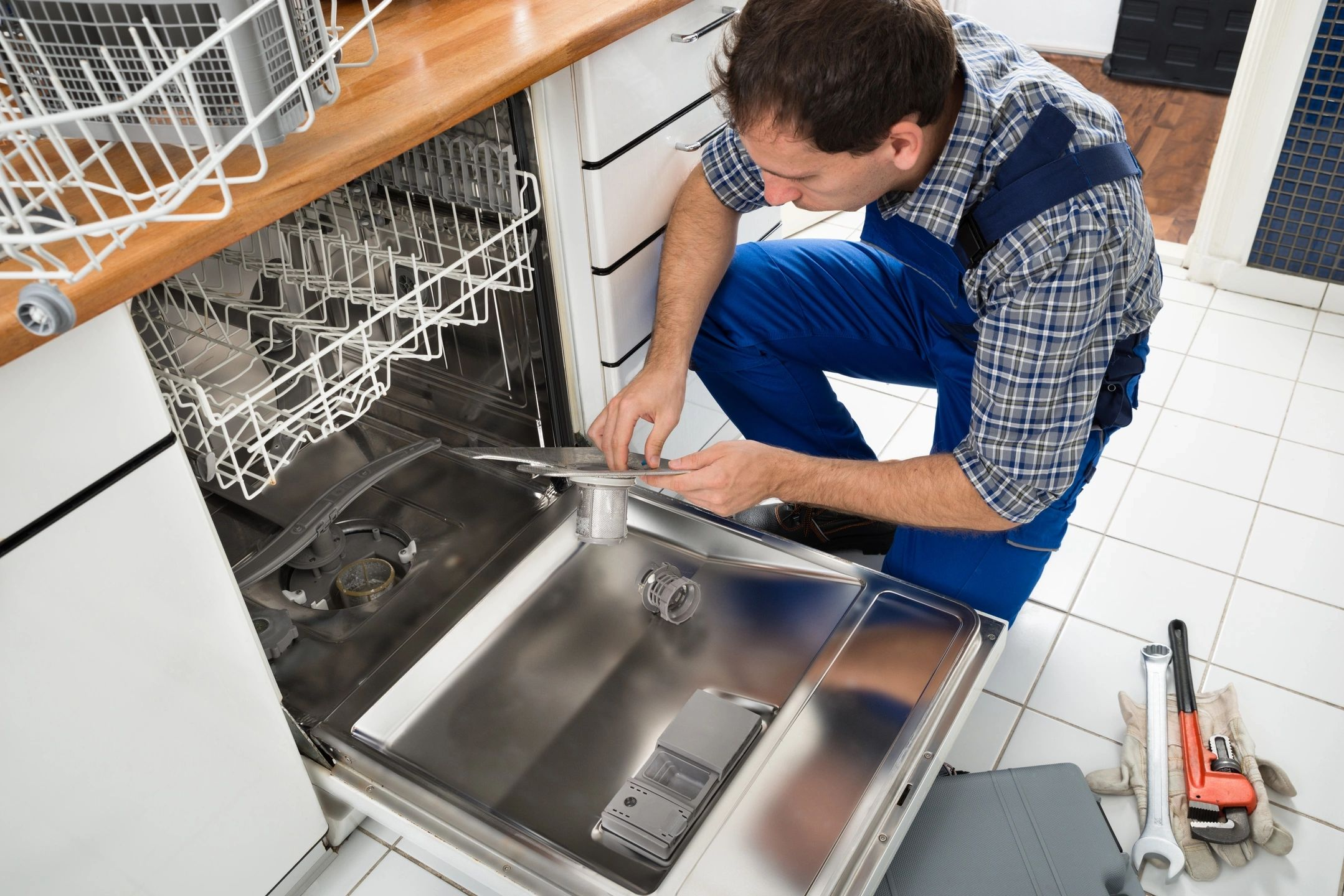 Water Softeners save money by using less dishwasher soap.