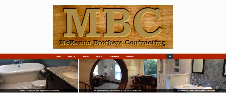 McKenna Brothers Contracting Website