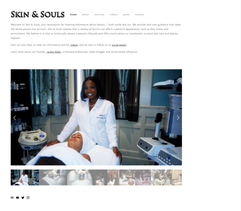 Skin & Souls Website