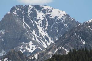 Mount Idaho's north face