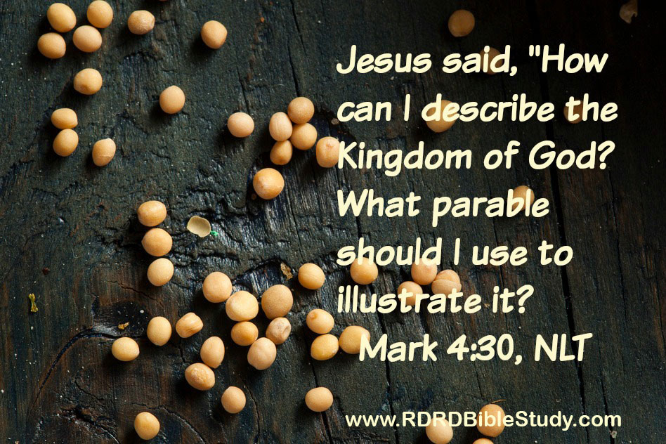 RDRD Bible Study Mark 4:30; Transformed Thinking By Grace: Thank God he's an atheist.