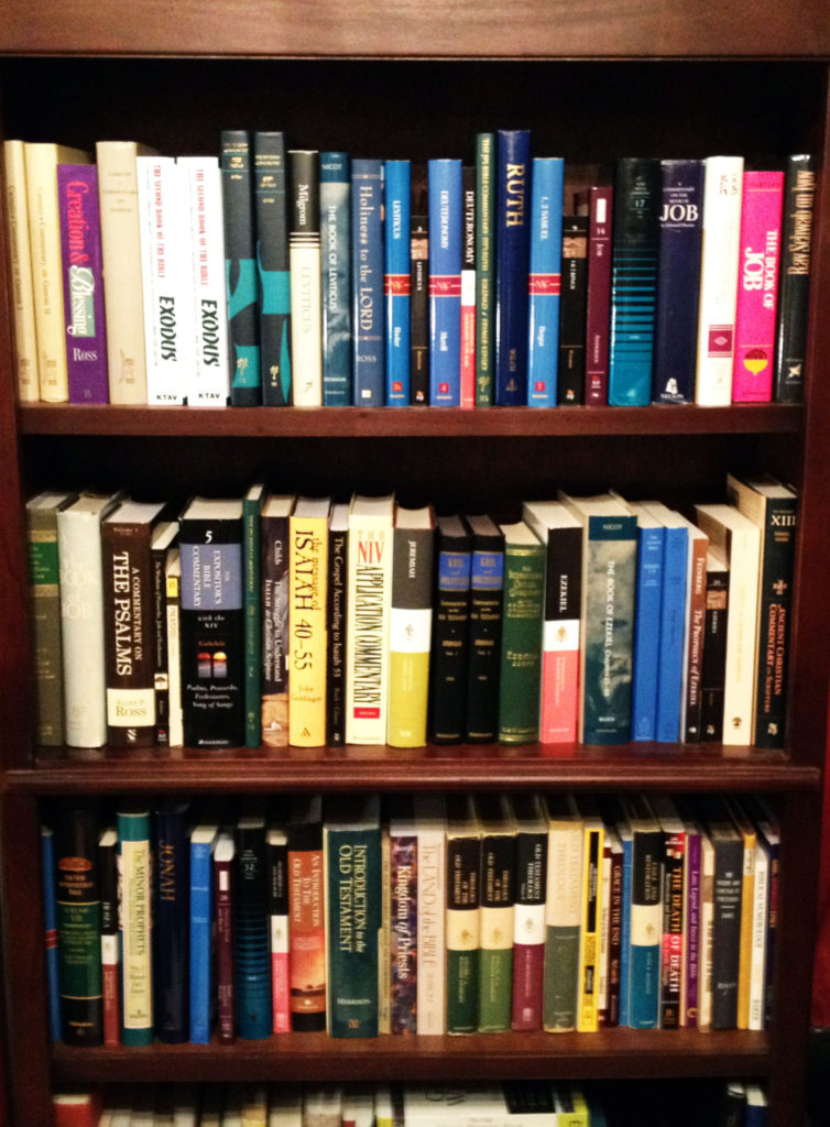RDRD Bible Study Not All Commentaries Equal My OT Collection