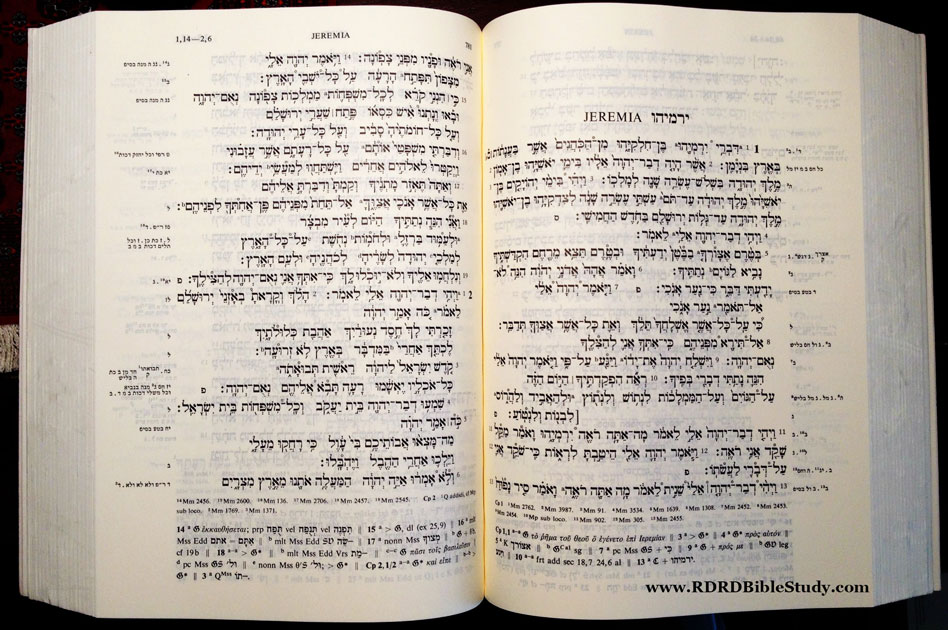 RDRD Bible Study Hebrew Old Testament Jeremiah