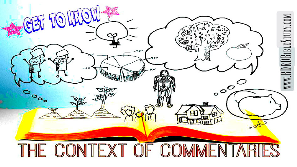 Know The Context Of Commentaries
