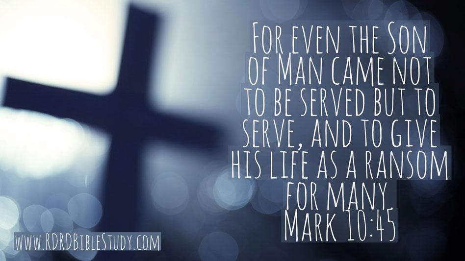 RDRD Bible Study Mark 19:45