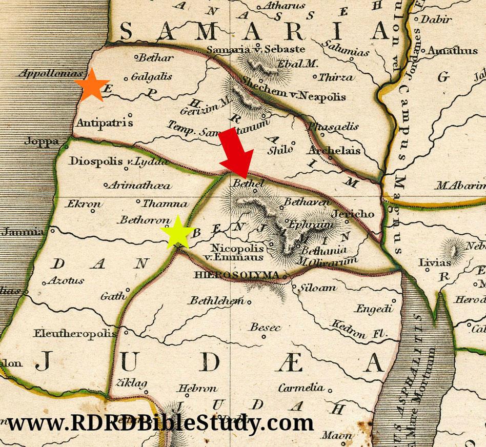 Beth Shemesh Bible Maps: RDRD Bible Study