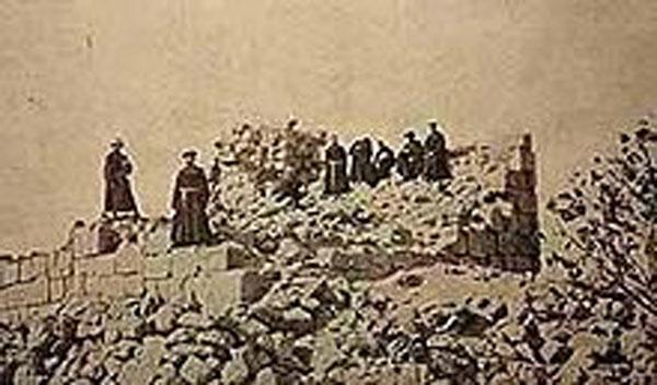 RDRD Bible Study ruins of al-Burj 1935