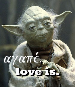 RDRD Bible Study Case For Learning Some Greek Yoda Love Is