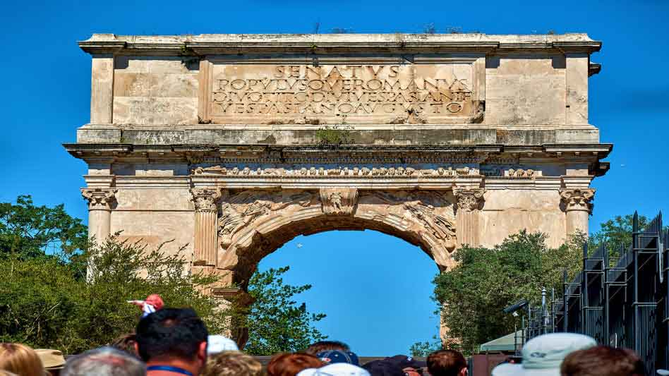 RDRD Bible Study DTM AD 70 Arch Of Titus Front