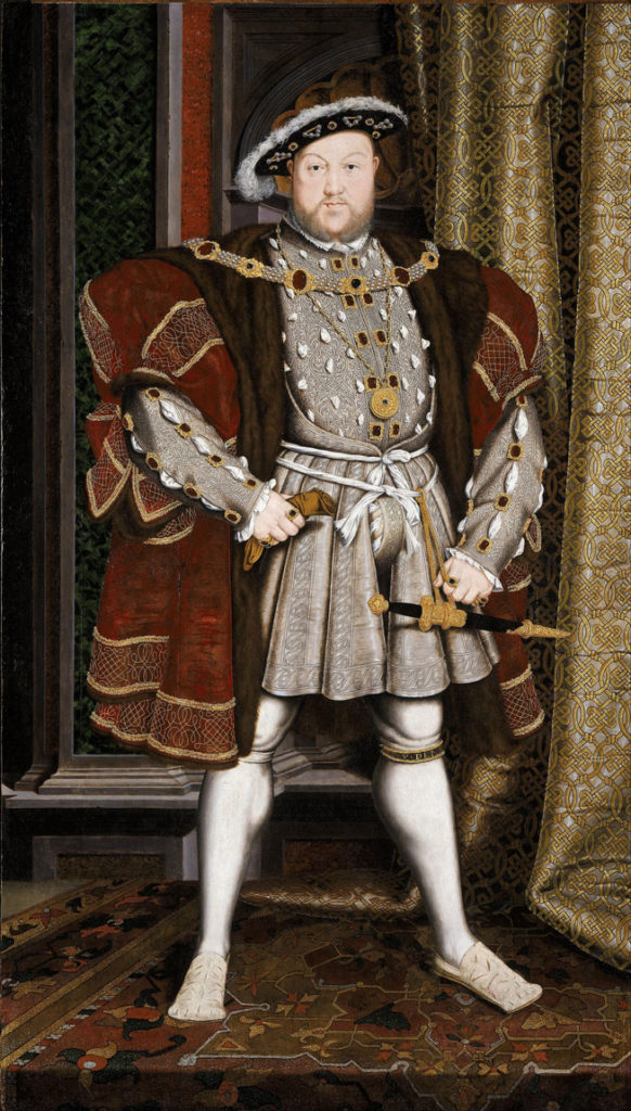 RDRD Bible Study Henry VIII Portrait
