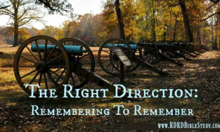 The Right Direction: Remembering To Remember