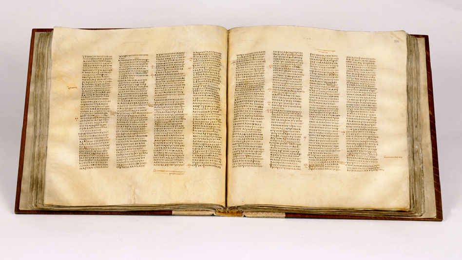 RDRD Bible Study New Testament Canon Codex Sinaiticus