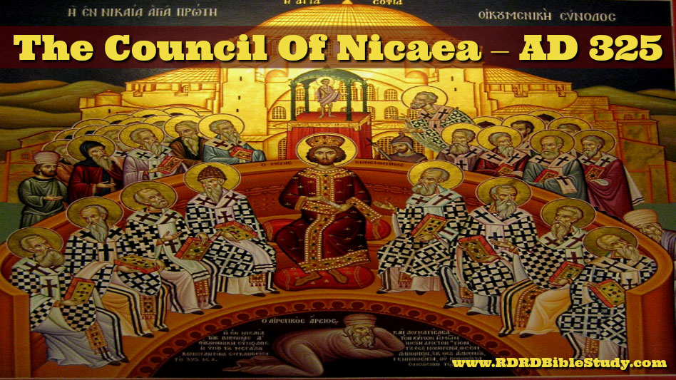 A Date To Memorize: AD 325 The Council Of Nicaea