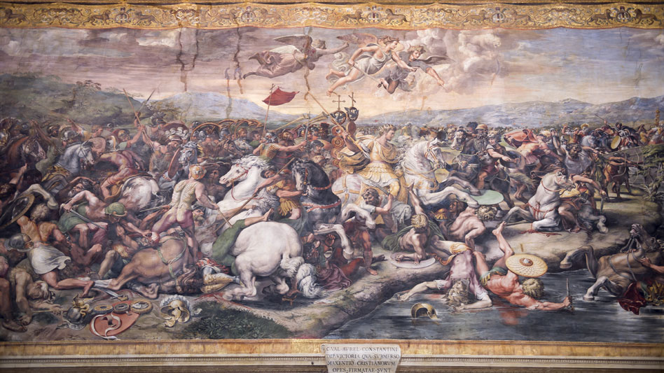 RDRD Bible Study Constantine Defeats Maxentius At Milvian Bridge