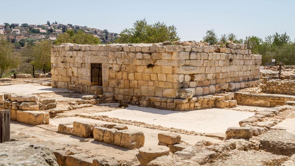 RDRD Bible Study Shiloh Israel Ancent Synagogue Ruins