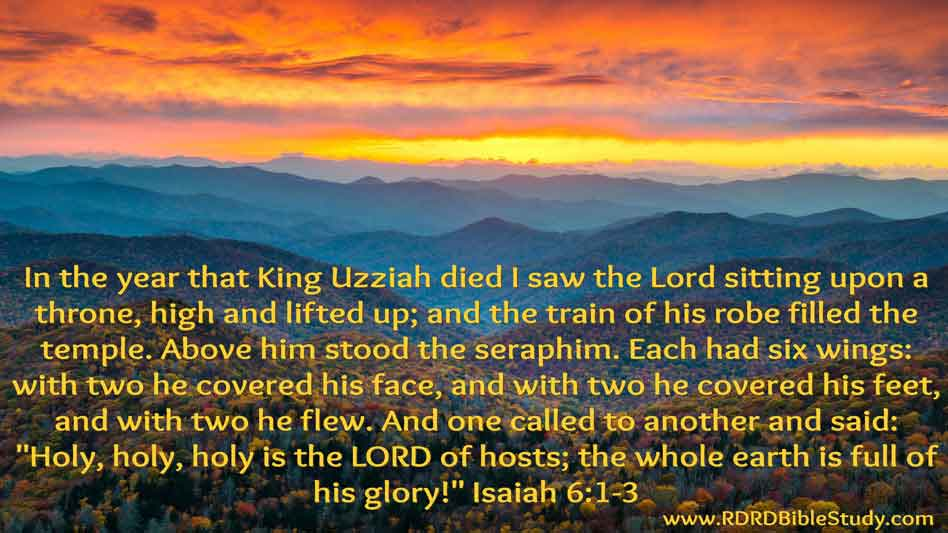 RDRD Bible Study Isaiah 6 1-3