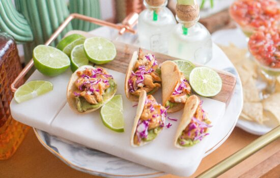 Tequila Tacos (with grilled fish)