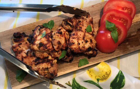 Three Ingredient Grilled Chicken