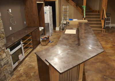 Volcanic Stainless Countertops