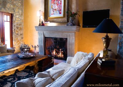 Forged Steel Fireplace Doors