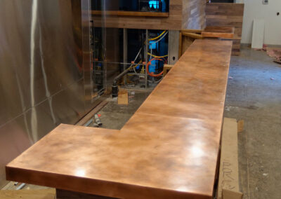 Copper Bar Tops