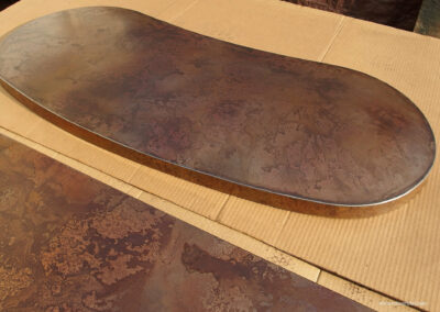 Volcanic Stainless Table Top